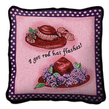 Red Hat Flashes Pillow