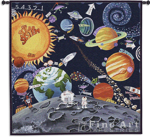 Solar System Wall Tapestry