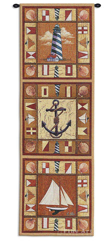 Harbor Icons Wall Tapestry
