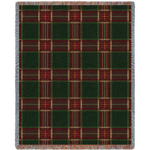 Golf Plaid Blanket