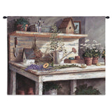 Simple Pleasures Wall Tapestry With Rod