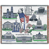Washington DC 2 Blanket