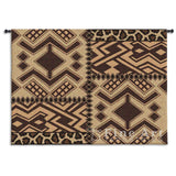 Kuba Patterns Wall Tapestry