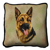 German Shepherd 2 Pillow