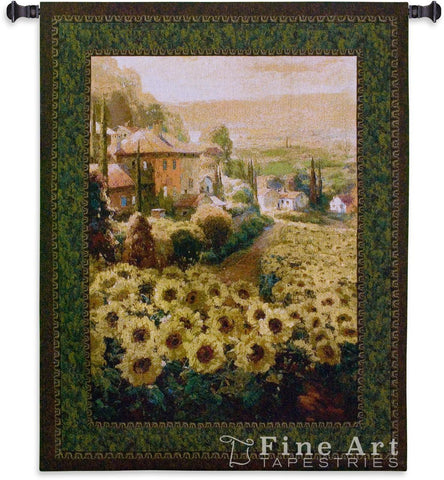 Fields Of Gold Wall Tapestry