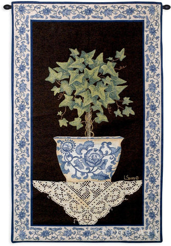 Ivy Topiary I Wall Tapestry