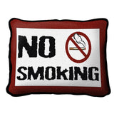 No Smoking Pillow