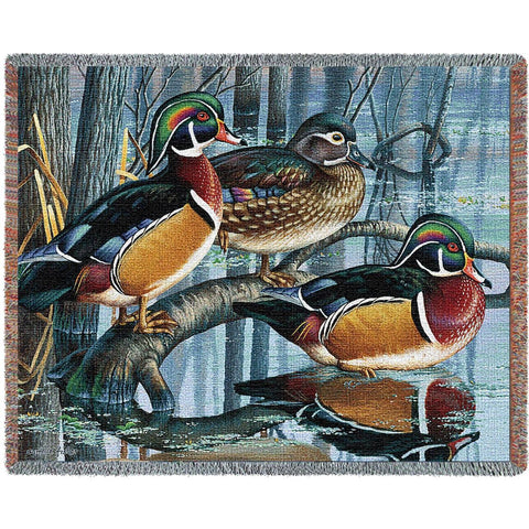 Backwater Woodies Blanket