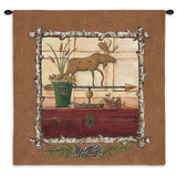 Northern Exposure I Wall Tapestry With Rod