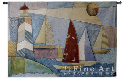 Bay Regatta Wall Tapestry