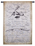 The Art Of Penmanship Wall Tapestry