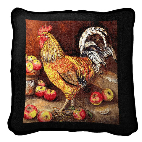 English Cockerel Pillow Cover