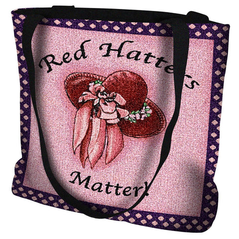 Red Hat Matters Hot Tote Bag