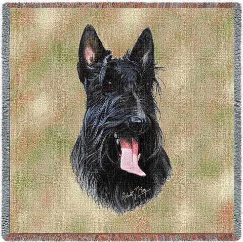 Scottish Terrier Small Blanket