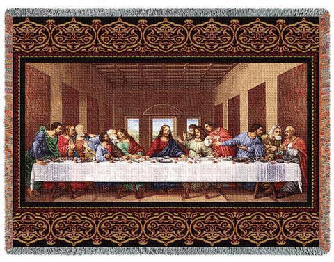 The Last Supper Blanket