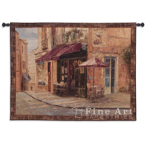 Hillside Cafe Wall Tapestry