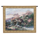 Old Mill Creek Wall Tapestry With Rod