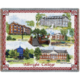 Albright College Campus Stadium Blanket