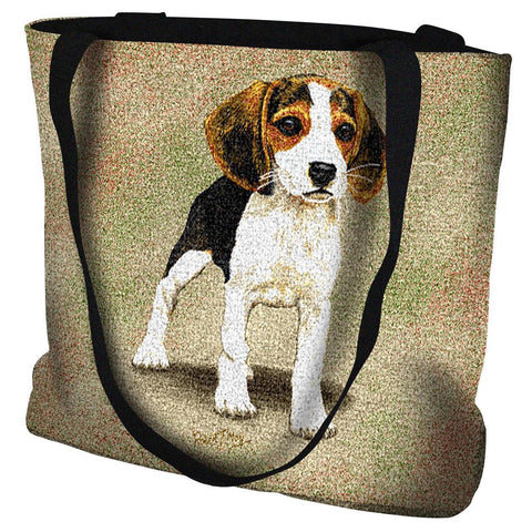 Beagle Puppy Tote Bag