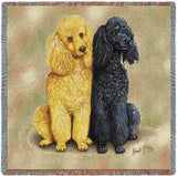 Poodles Small Blanket