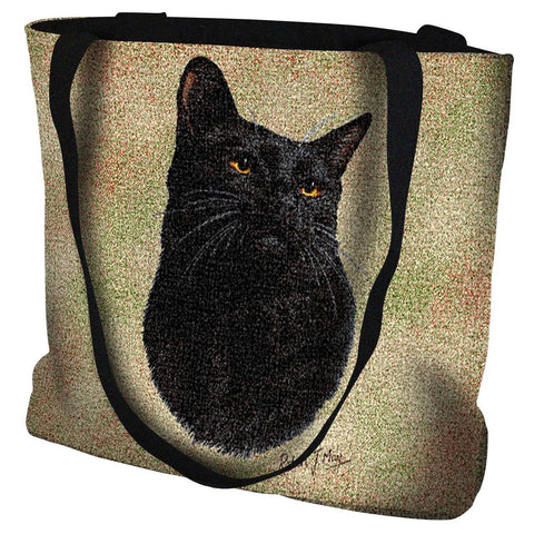 Black Cat Bag Tote Bag