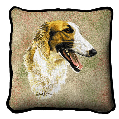 Borzoi Pillow Cover