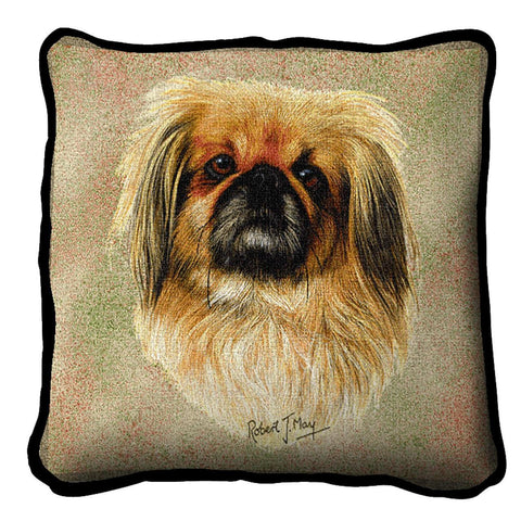 Pekingese Pillow Cover