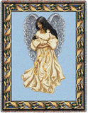 Guardian Angel and Baby 3 Blanket