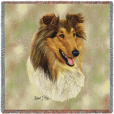Rough Collie 2 Small Blanket