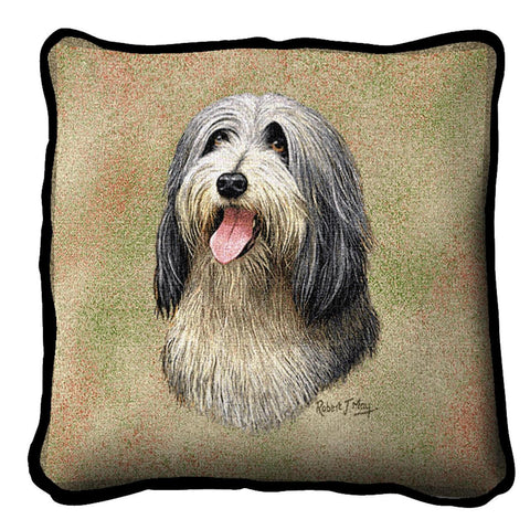Bearded Collie Pillow Cover