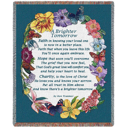 A Brighter Tomorrow Blanket
