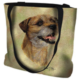 Border Terrier II Tote Bag