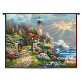 Coastal Splendor Wall Tapestry With Rod
