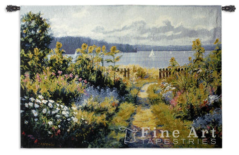 Garden View Wall Tapestry