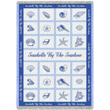 Seashells by te Seashore Blanket