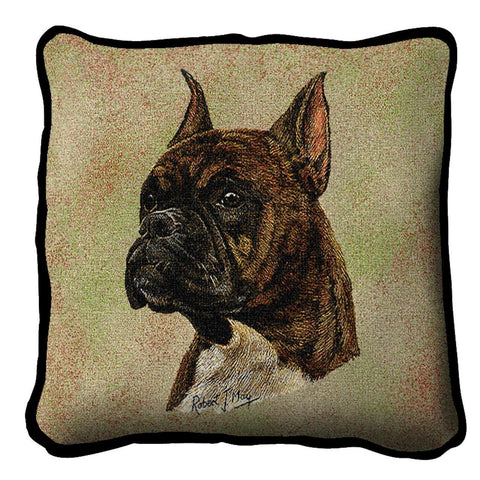 Boxer  Brindle Pillow Cover
