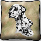Dalmatian with Puppy Pillow
