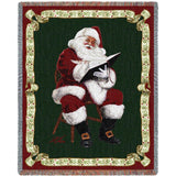 Santas Notes by Donald Zolan Blanket