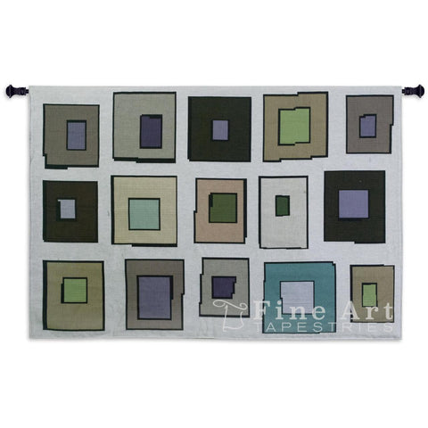Hip To Be Square Wall Tapestry