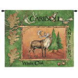 Caribou Wall Tapestry With Rod