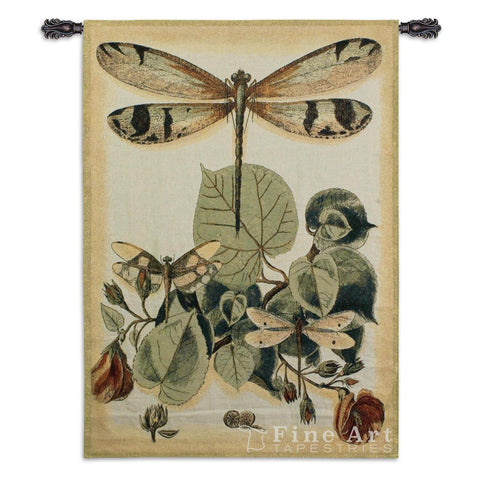 Lt Whimsical Dragonfly II Wall Tapestry