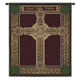 Celtic Words Wall Tapestry With Rod