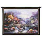 Going Home Wall Tapestry With Rod