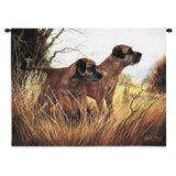 Border Terrier Wall Tapestry with Rod