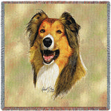 Rough Collie Small Blanket