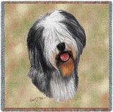 Old English Sheepdog Small Blanket