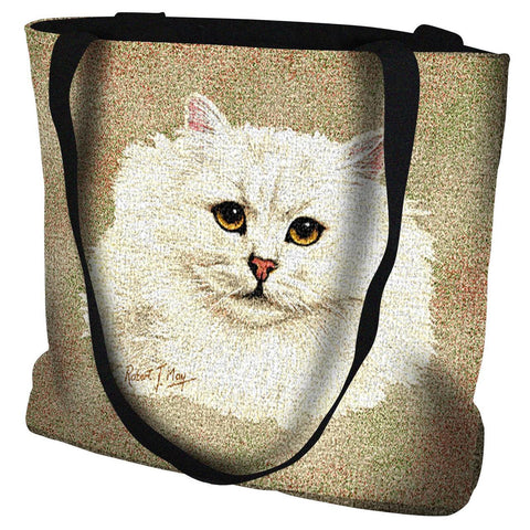 Chinchilla Persian Tote Bag