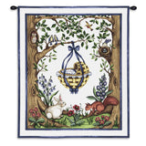 Rock Bye Blue Wall Tapestry With Rod