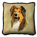 Rough Collie Pillow