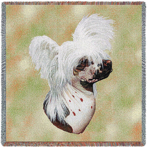 Chinese Crested Dog Small Blanket